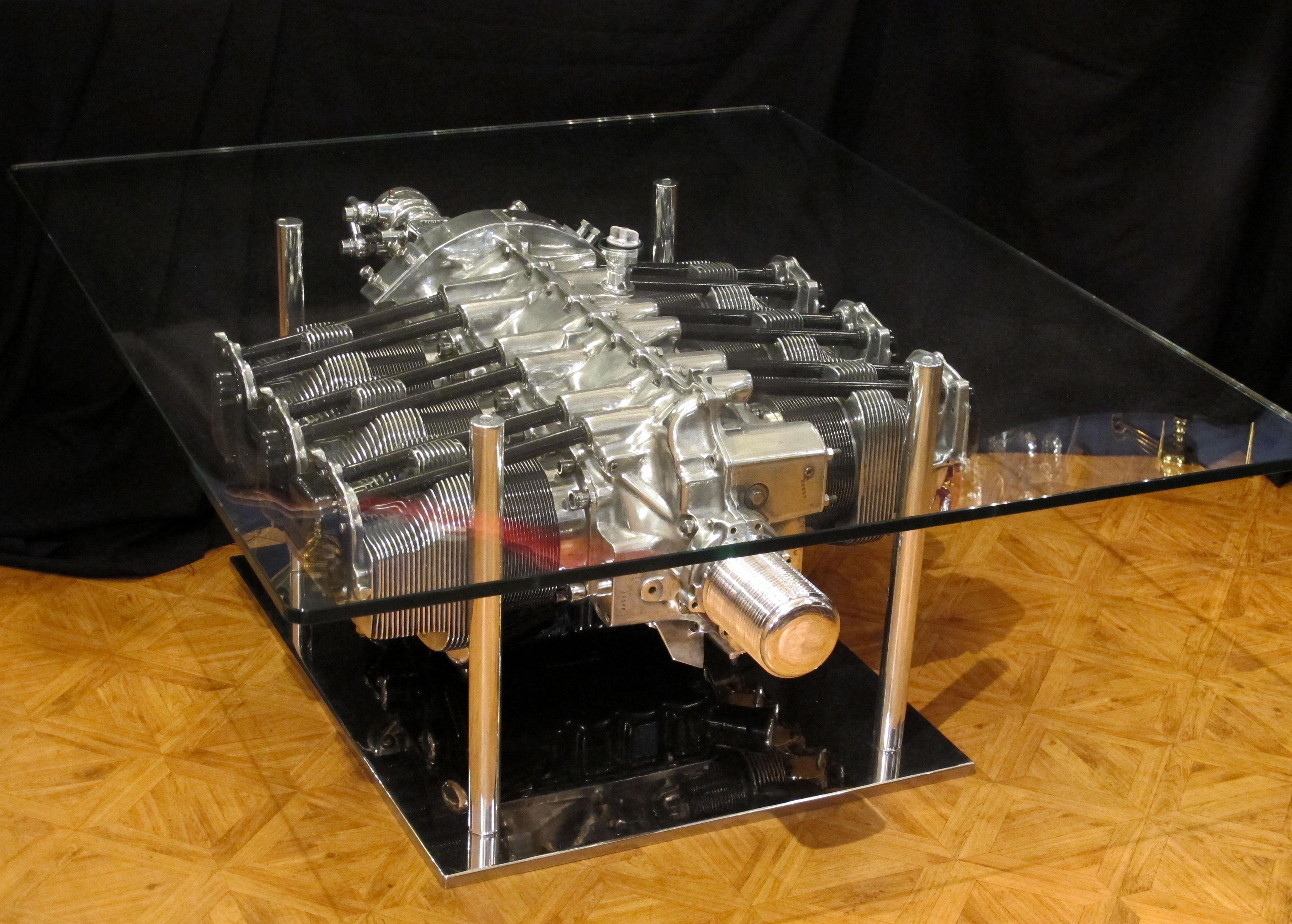 Aviation Furniture Coffee Table By Jean Pierre Carpentier