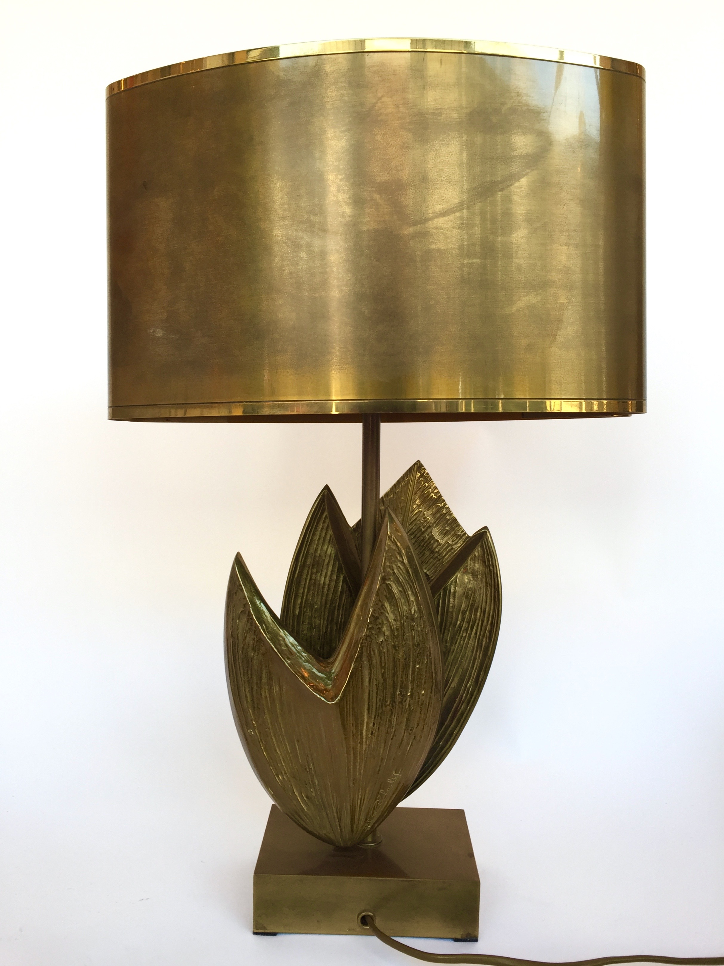 Lamp Cythere By Maison Charles France 1970s Paul Bert Serpette