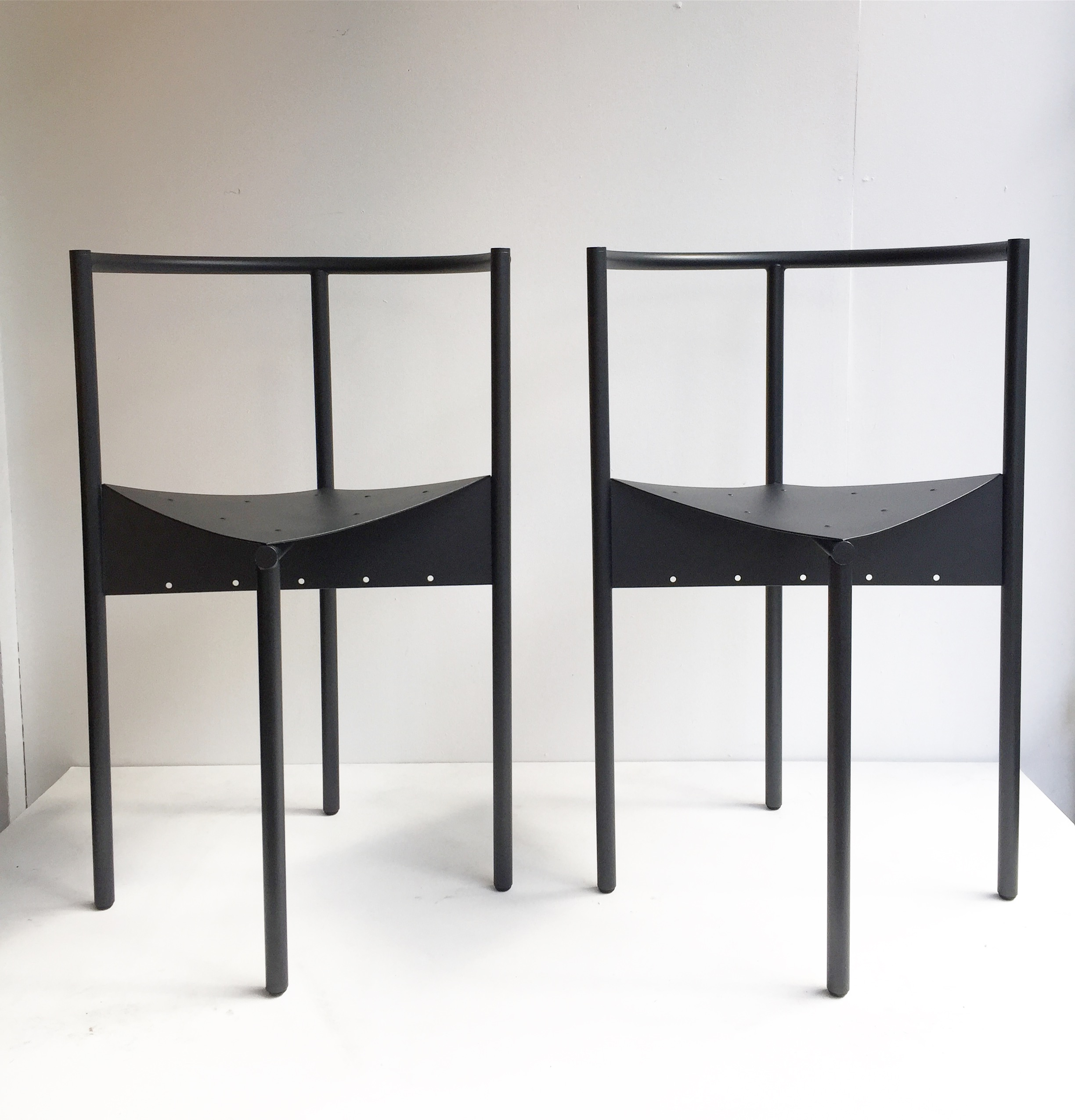 chaises wendy wright philippe starck ed disform années 80