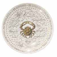 Cancer zodiaci plate by Fornasetti