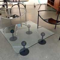 "Coffee table ""Pepper young"", Philippe Starck, 80s"