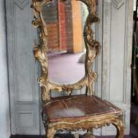 Important ceremonial chair