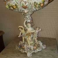 XIXth century porcelain centerpiece (Germany)