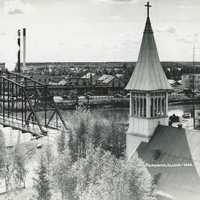 Photographie panoramique Fairbanks, Alaska 1949