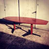 Grande table de réunion Italie circa 1960