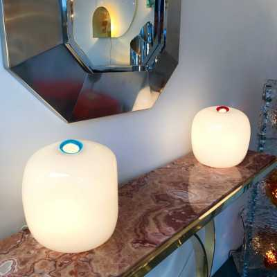 barbini lamp murano glass