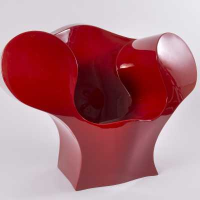 Resin armchair, Ron Arad, 2000s