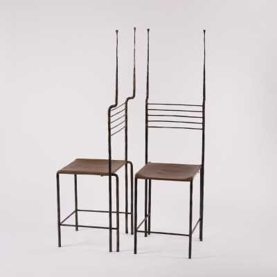 Pair of chairs, c.1960