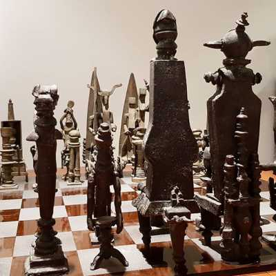 Chess Game, Vic Gentils, 1967