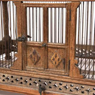 Wooden cage, France, late 18th