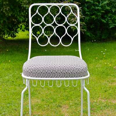 Set of garden furniture in the style of Mathieu Matégot | Paul Bert ...