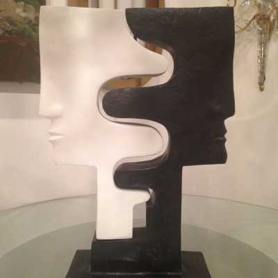 Sculpture, sans titre, Jacques Le Bescond, circa 1990