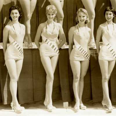 MISS UNIVERSE BEAUTY PAGEANT 1958