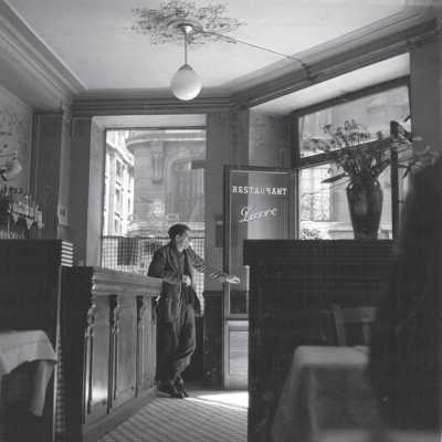 Restaurant Pierre, Paris, Louis Stettner, 1951