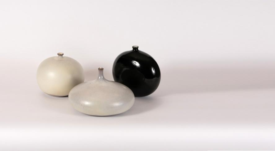 Set of XL ceramics by Jacques and Dani Ruelland