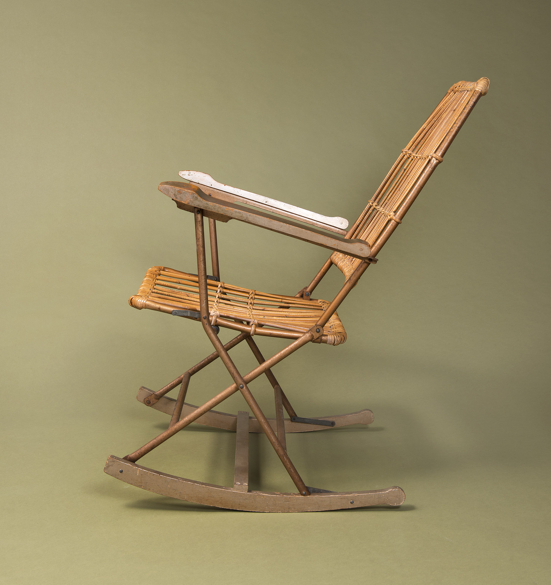 Awesome Rocking Chair C 1950 Paul Bert Serpette Gmtry Best Dining Table And Chair Ideas Images Gmtryco