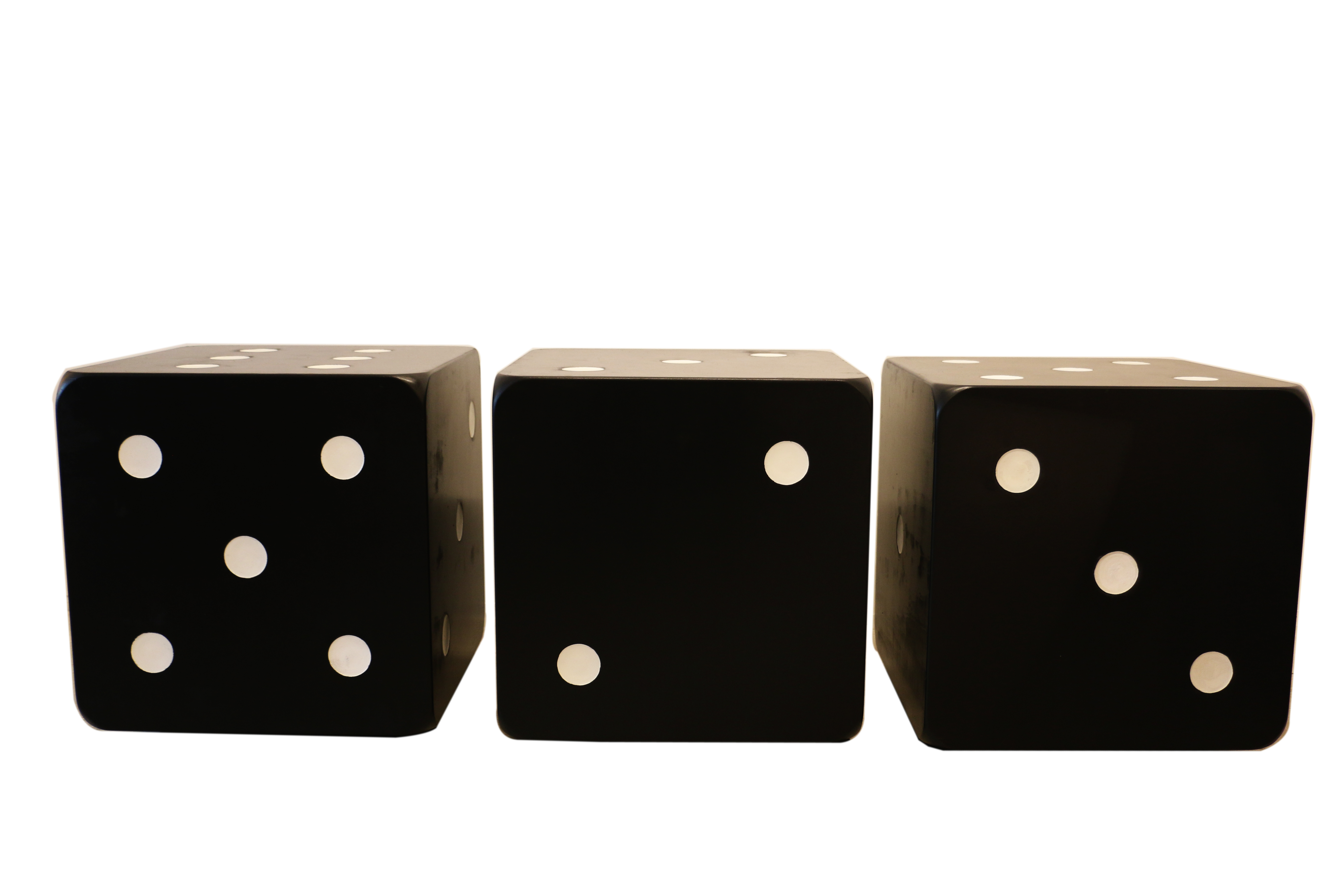 Three Pieces Of Couch Shaped Dice Circa 1970 Paul Bert