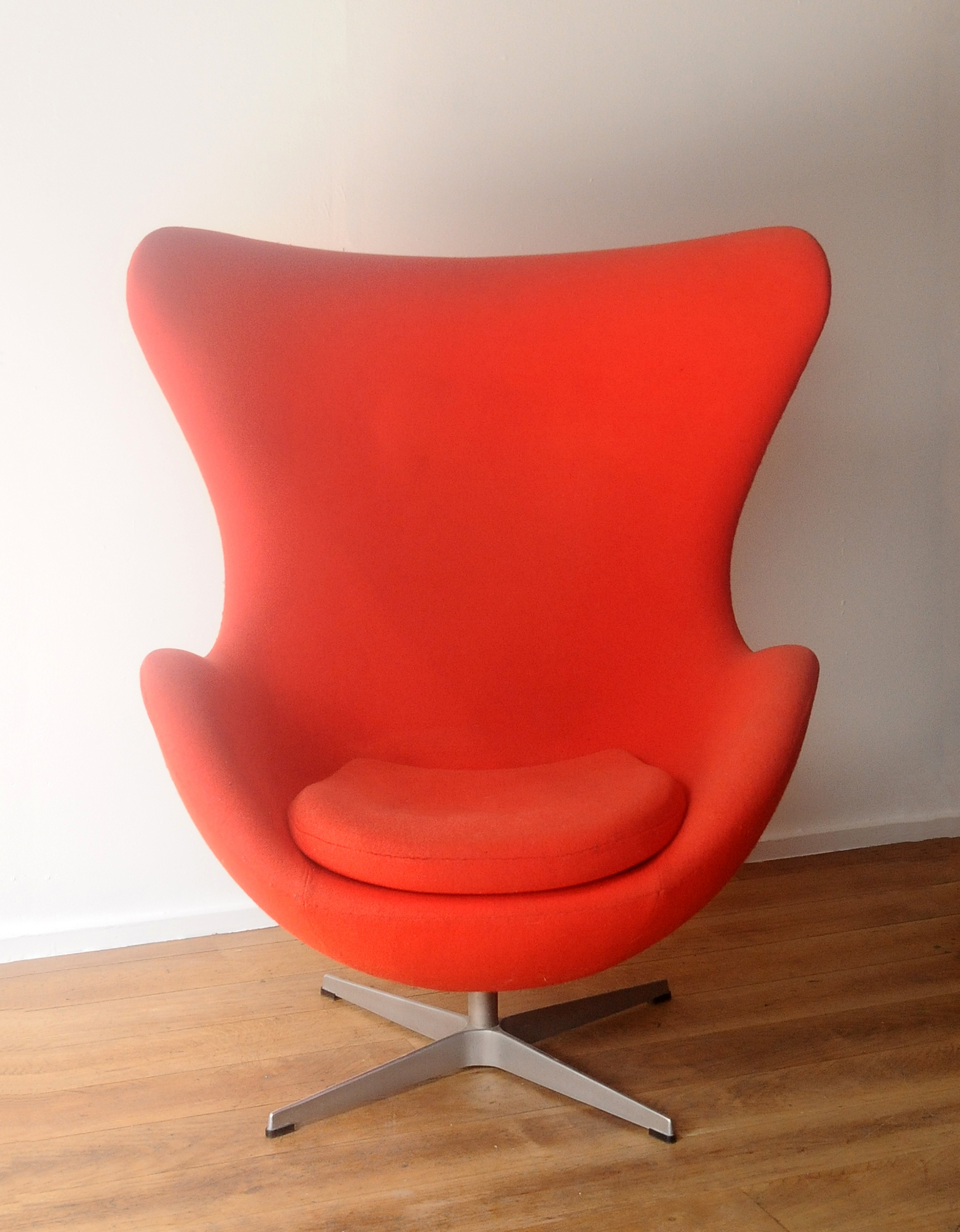 Egg Chair Designed By Arne Jacobsen Paul Bert Serpette