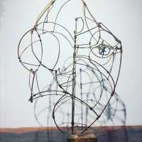Sculpture in copper wire, S. Tomshinsky, 1964,
