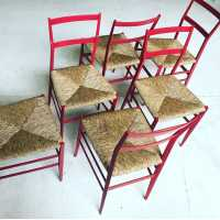"Chairs,""Superlegera"", Gio Ponti, 1950"