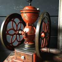 Coffee grinder, American, late nineteenth,