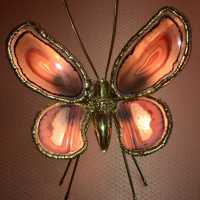 Butterfly wall lamp 1970