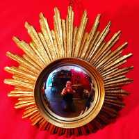 convex mirror golden sun