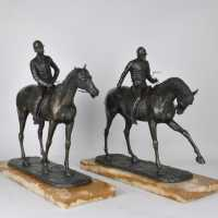 Bronze Horsemen, Art Deco