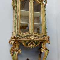 Lacquered display console Genes 19th century