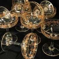 Baccarat Crystal Champagne Cups