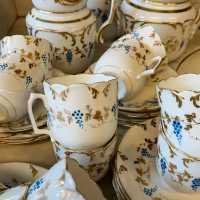 Paris porcelain coffee service