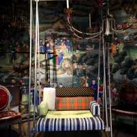 Indoor swing by Garouste & Bonetti