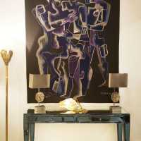 Aubusson-Felletin tapestry from a Zadkine cardboard