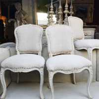 Set of 4 chairs, 19th century