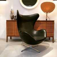 """Egg Chair"" by Arne Jacobsen for Fritz Hansen, circa 1960"