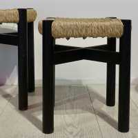 "Stools called ""orcieres"". Charlotte Perriand."
