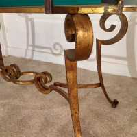 Maison Ramsay - Coffee Table - Golden Wrought Iron