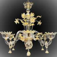 opaline chandelier green green chandelier light lamp