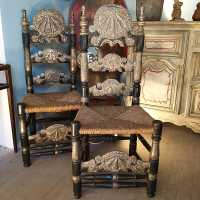Old Mallorcan chairs