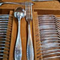 Christofle silver metal table set