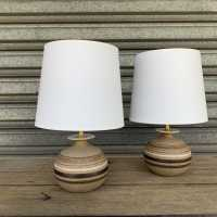 Bruno Gambone Pair of lamps