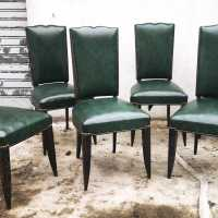 6 Gaston Poisson chairs