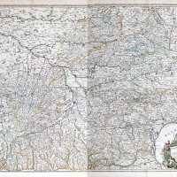 the largest 17th century map of Toulouse and its region