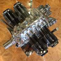 Lycoming engine coffee table