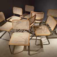 B32 cesca chairs