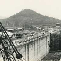 Pedro Miguel Locks, Canal de Panama, Gordon Panoramic Photo Co., vers 1910
