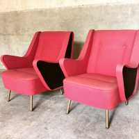Pair of armchairs, 1950