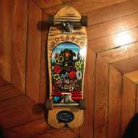 Original Santa Cruz skateboard from the 1980's.