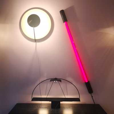"The neon ""Easy Light"" by Philippe Starck"
