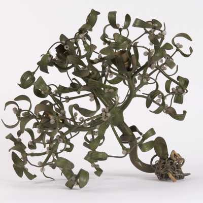 Chandelier mistletoe, bronze, nineteenth